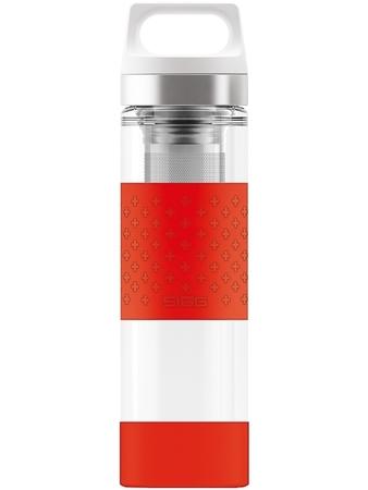 Termos szklany SIGG WMB Red 0.4L 8555.90 (1)